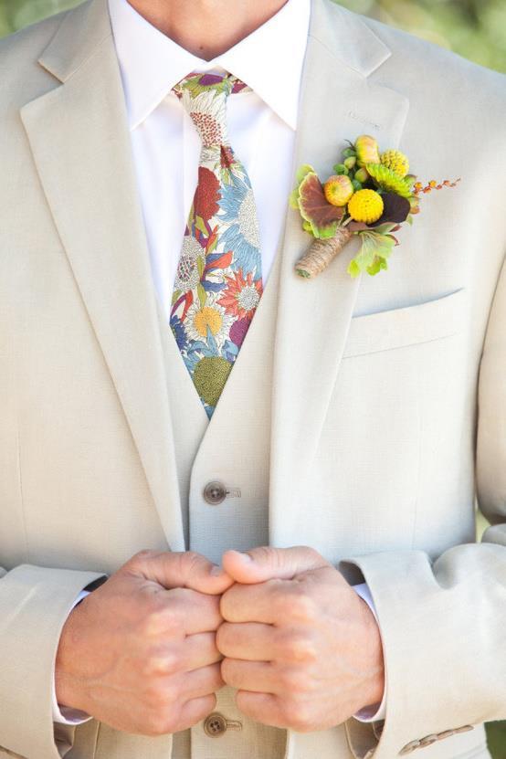 Hoa cài áo tinh tế cho chú rể - 3
