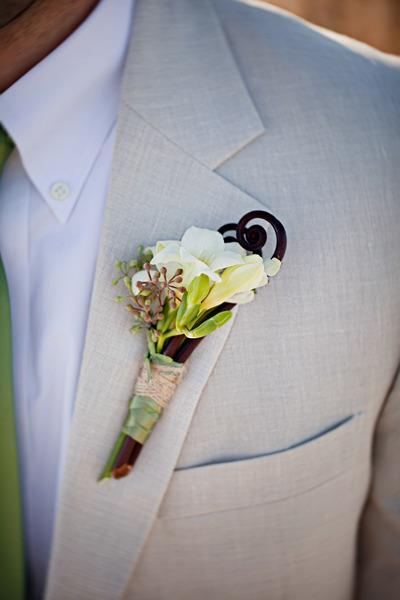 Hoa cài áo tinh tế cho chú rể - 11