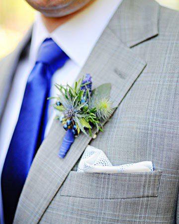 Hoa cài áo tinh tế cho chú rể - 9