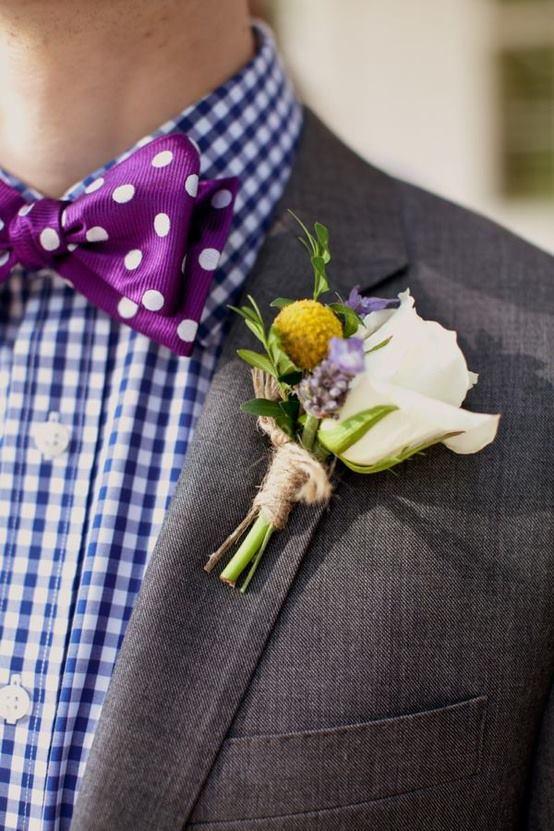 Hoa cài áo tinh tế cho chú rể - 8