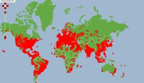 Internet toàn cầu đang hứng chịu đợt tấn công kỷ lục - 1