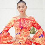 Thời trang - Ngô Thanh Vân chói chang với sắc hoa