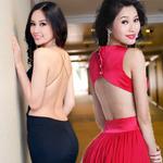 Thời trang - Chấm điểm đường cong 5 hoa hậu Việt!