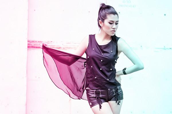 Thiếu nữ Việt cá tính với street style - 2