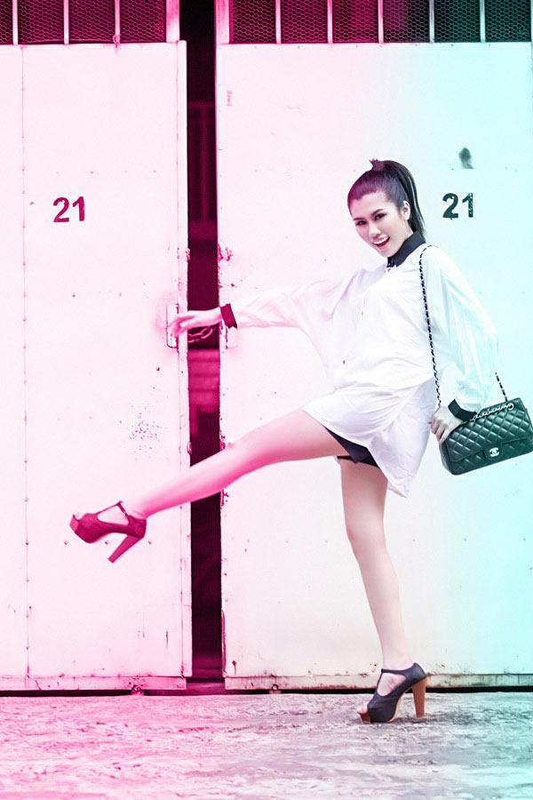 Thiếu nữ Việt cá tính với street style - 9