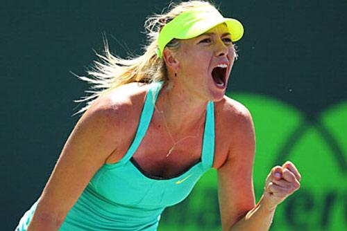 Sharapova - Jankovic: Sức mạnh vũ bão (BK Miami Masters) - 1