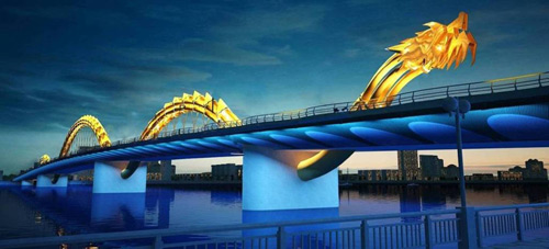 Đà Nẵng: Cầu Rồng khạc lửa ngày khánh thành - 2