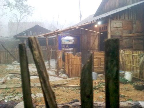 Lào Cai: Lại mưa đá như... ném gạch - 2