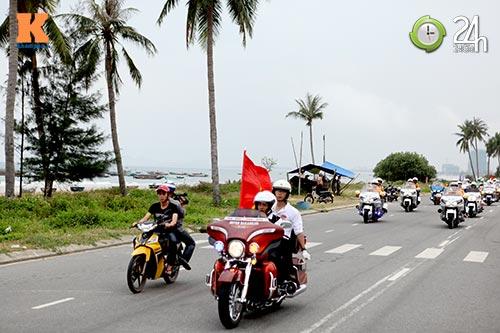 400 xe mô tô khủng rầm rập diễu hành tại Đà Nẵng - 5