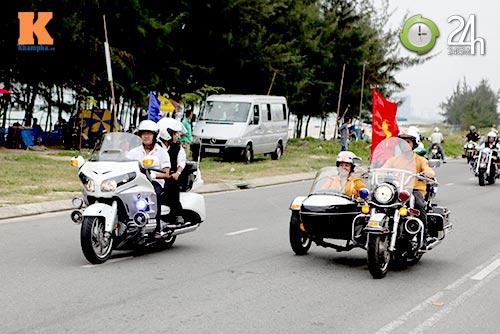 400 xe mô tô khủng rầm rập diễu hành tại Đà Nẵng - 7