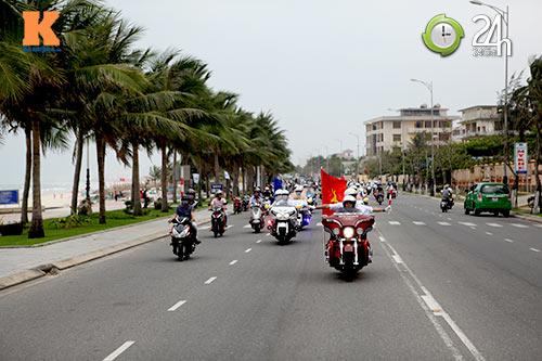 400 xe mô tô khủng rầm rập diễu hành tại Đà Nẵng - 2