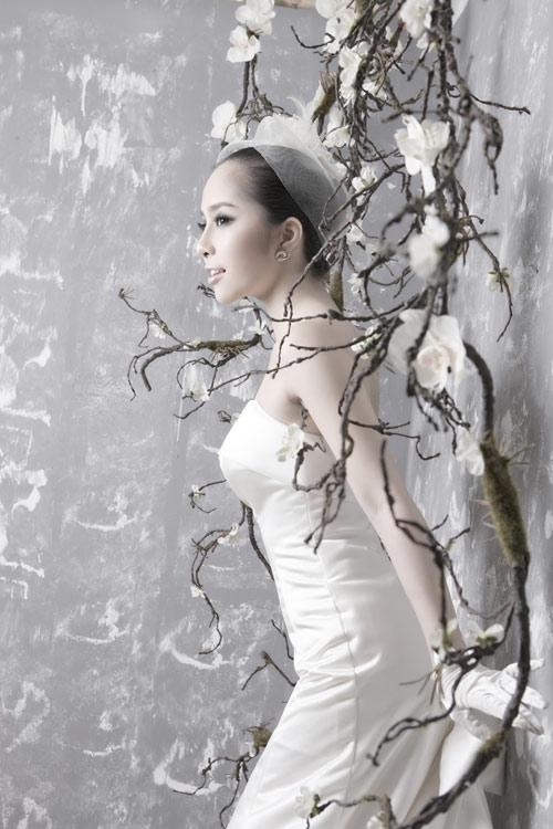 Quỳnh Nga chọn váy cưới cho nàng dâu - 6