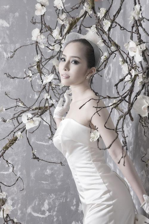 Quỳnh Nga chọn váy cưới cho nàng dâu - 8
