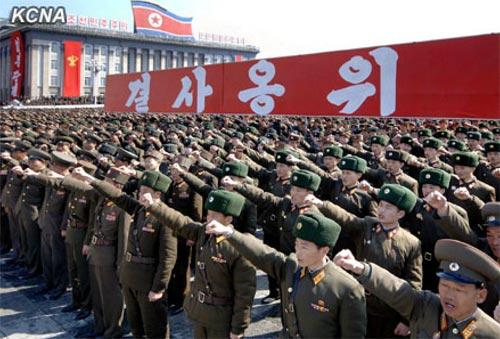 Triều Tiên tuyên bố chiến tranh với HQ - 1