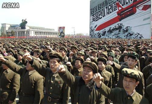 Triều Tiên tuyên bố chiến tranh với HQ - 9