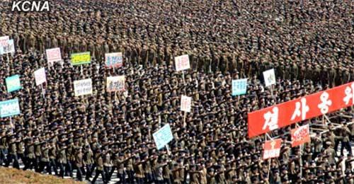 Triều Tiên tuyên bố chiến tranh với HQ - 13