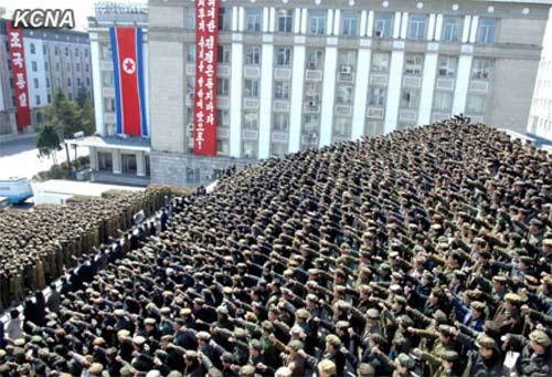 Triều Tiên tuyên bố chiến tranh với HQ - 8