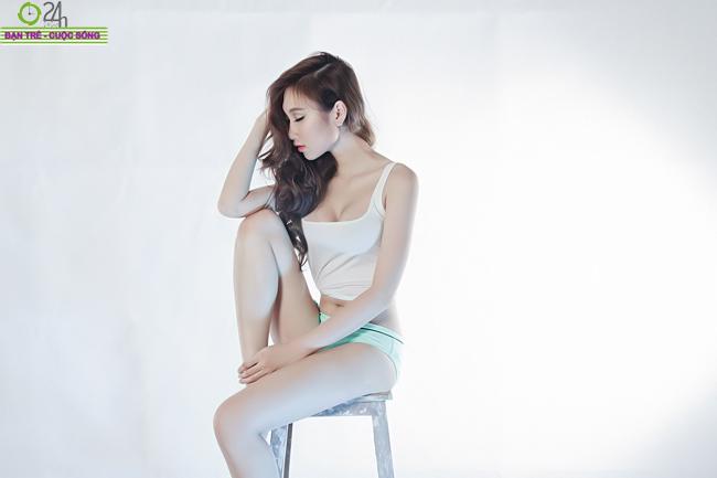 Ngắm vẻ đẹp sexy của hot girl Hải Quyên