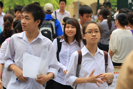 Ngày 18/6, Hà Nội tổ chức thi vào lớp 10 - 1