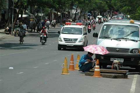Mưu sinh giữa nắng nóng Sài Gòn - 5