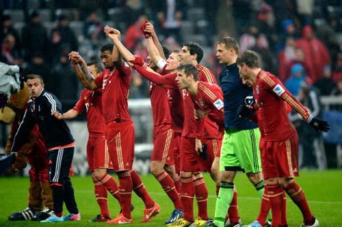 Bayern - Hamburger: Trận đấu 11 bàn - 1