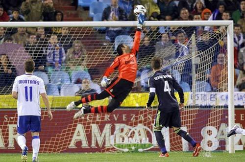 5 điều rút ra từ trận Real hòa Zaragoza - 1