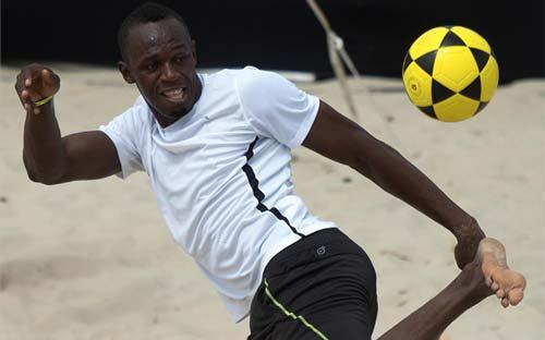 "Bolt ""thử sức"" tại MU sau Olympic 2016 - 1"