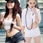 """Thời trang - Trào lưu quần """"5cm"""" trong làng giải trí Việt"""