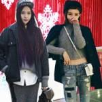 Thời trang - Tín đồ Á vẫn mặc đẹp chẳng ngại trời lạnh