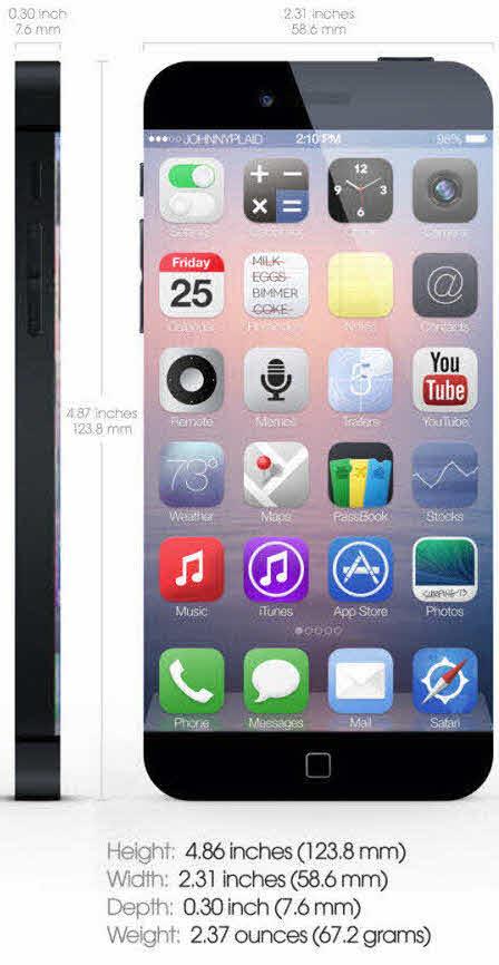 Lộ cấu hình iPhone 6 phiên bản đẹp như mơ - 8