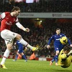Bóng đá - Video: Wilshere rực sáng trận gặp Cardiff