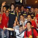 Bóng đá - CĐV háo hức đón U19 Nhật Bản ở Tân Sơn Nhất