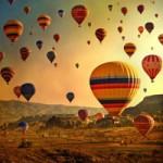 Du lịch - Trải nghiệm du lịch khinh khí cầu ở Thổ Nhĩ Kỳ
