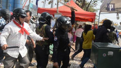 Campuchia: Biểu tình rã đám - 1
