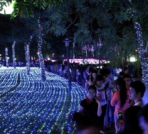 Công viên Tân Phú lung linh với 500 nghìn đèn led - 2