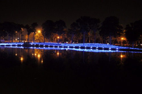 Công viên Tân Phú lung linh với 500 nghìn đèn led - 3