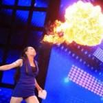 Ca nhạc - MTV - Cô gái thổi ra lửa gây sốt China's Got Talent