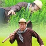 Hai Lúa  Thanh Nam bị thương trên trường quay