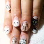 Làm đẹp - Gợi ý nail xinh cho bạn gái yêu mèo