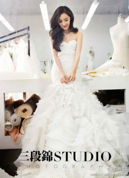 Đám cưới tốn kém của Dương Mịch, Lưu Khải Uy - 12