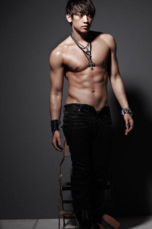 """""""Nghẹt thở"""" vì bụng 6 múi của mỹ nam Hàn - 1"""