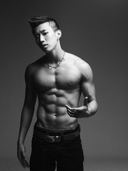 """""""Nghẹt thở"""" vì bụng 6 múi của mỹ nam Hàn - 14"""