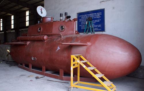Tàu ngầm Trường Sa chạy thử nghiệm vào tuần tới - 1