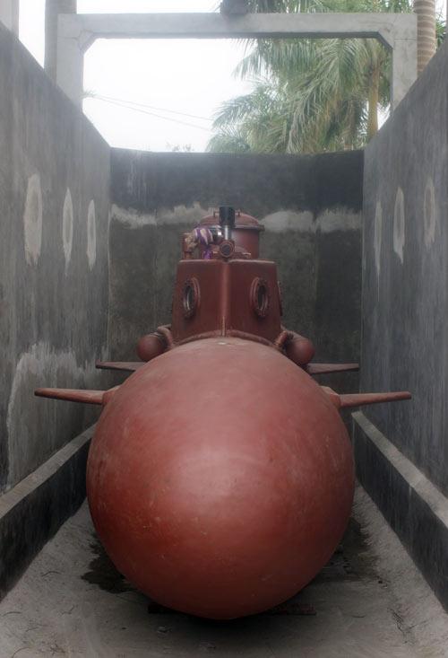 Tàu ngầm Trường Sa chạy thử nghiệm vào tuần tới - 8