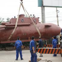 Tàu ngầm Trường Sa chạy thử nghiệm vào tuần tới