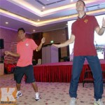 Bóng đá - Phì cười với màn múa của cầu thủ U19 VN