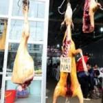 """Tin tức trong ngày - Treo thịt ở chùa Hương: """"Phản cảm nhưng khó cấm"""""""