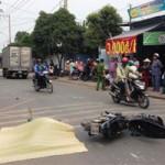 An ninh Xã hội - Bị cô gái đuổi, cướp lao vào xe tải tử vong