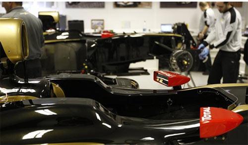 F1: Lotus trễ hẹn với đợt thử nghiệm tại Jerez - 1
