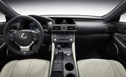 Lexus RC F siêu mạnh với động cơ V8 - 13